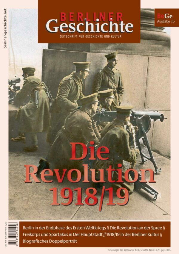 Revolution 1918 1919 Berlin