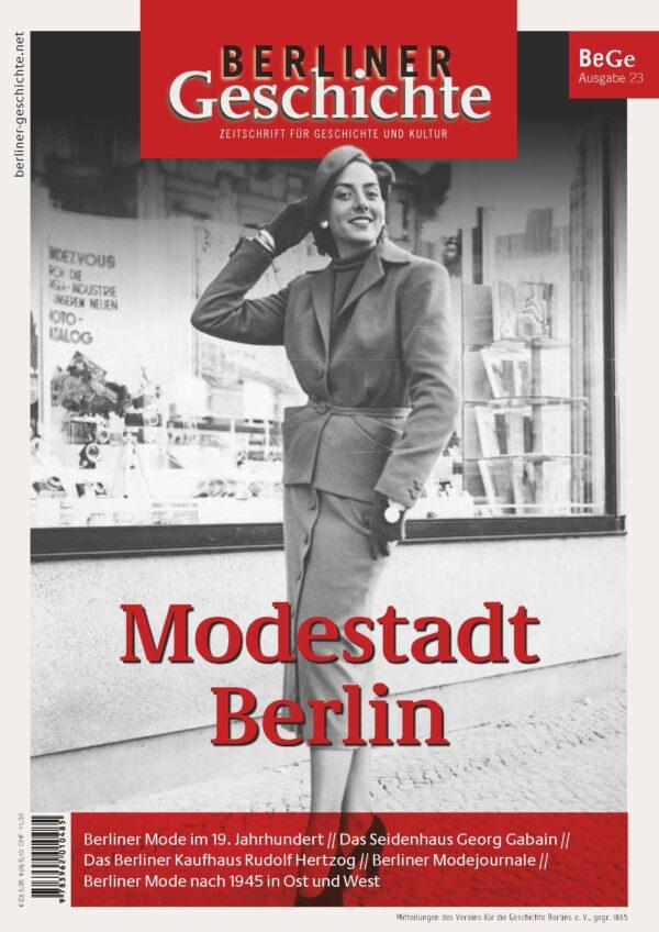Geschichte Mode Berlin