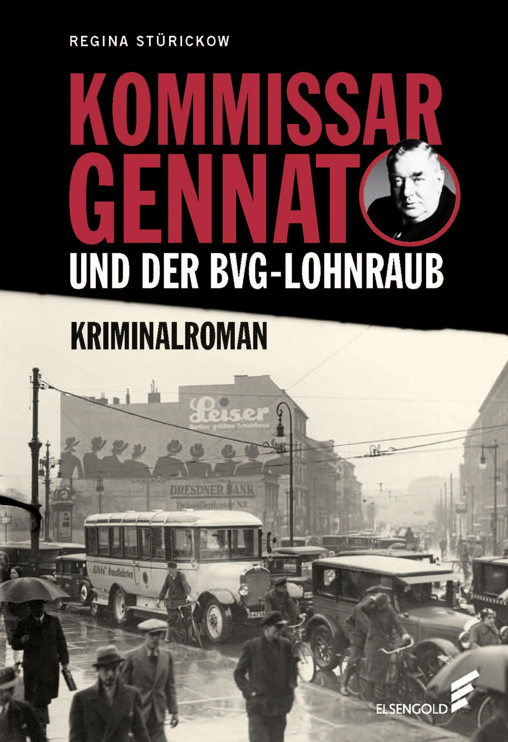 Gennat Berlin Krimi Roman Stürickow