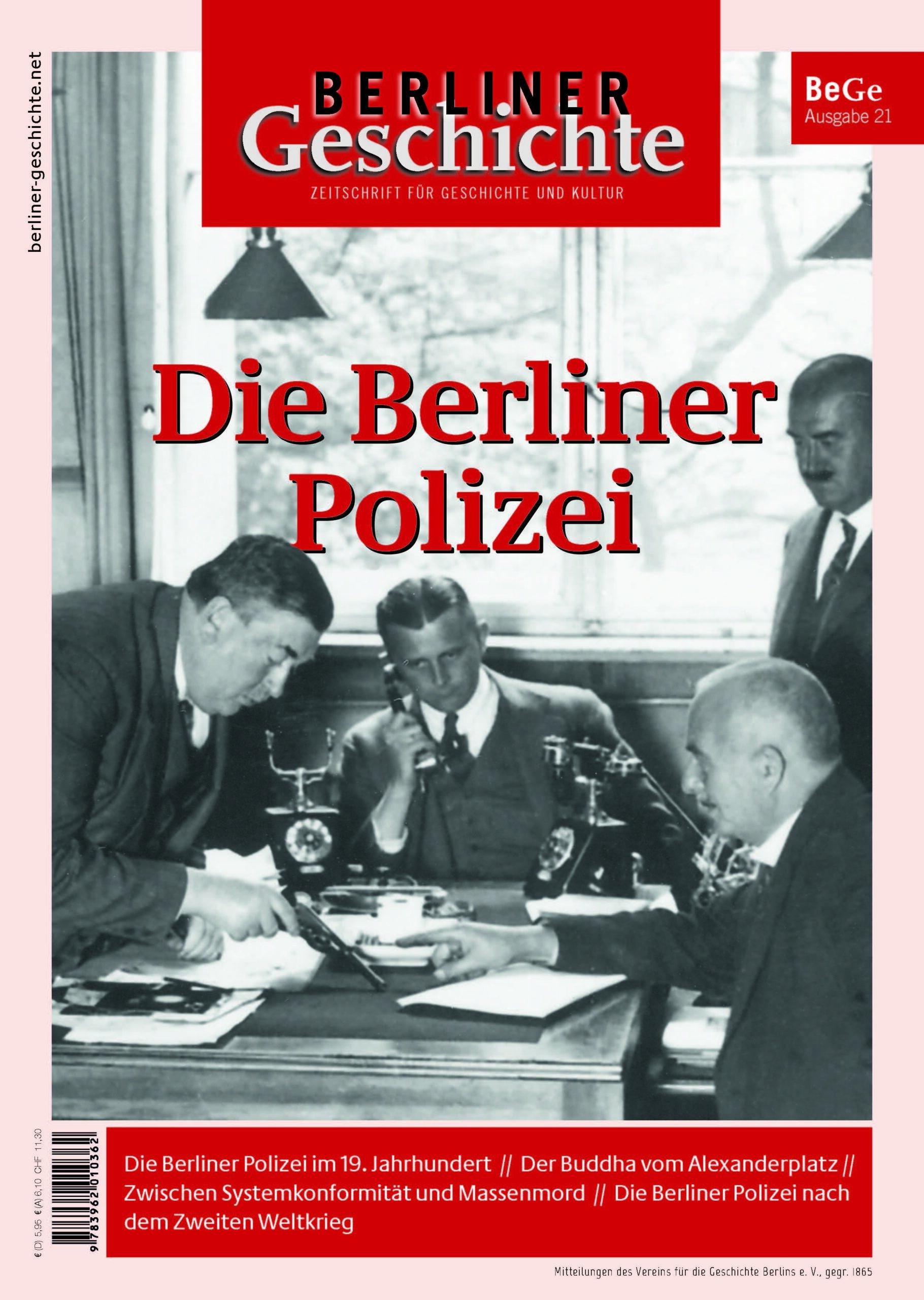 Geschichte der Berliner Polizei