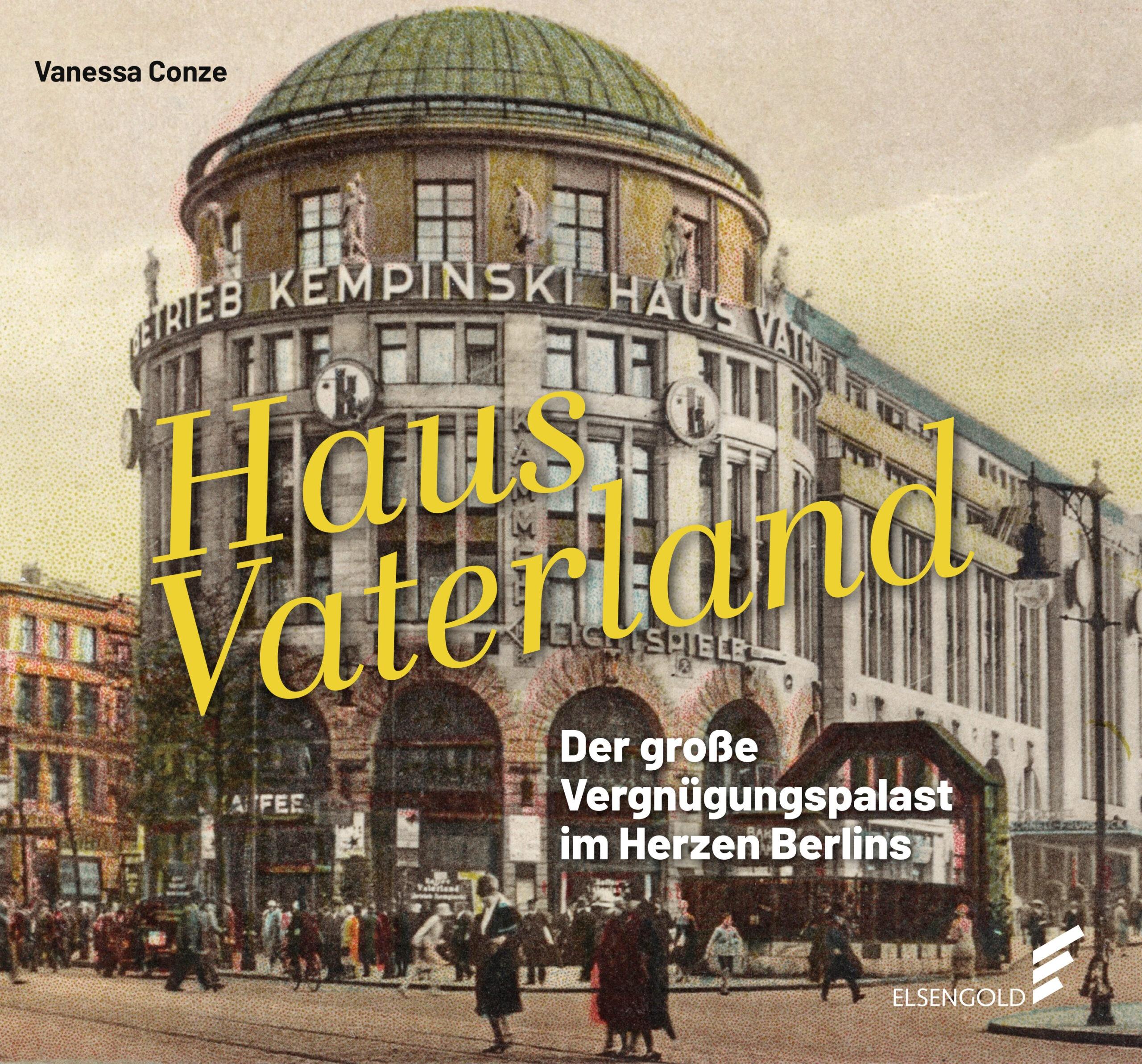 Das Bild zeigt das Cover zum Buch Haus Vaterland.
