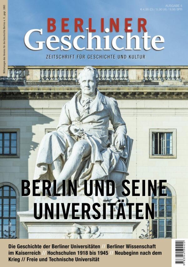 Berlin Universitäten Geschichte