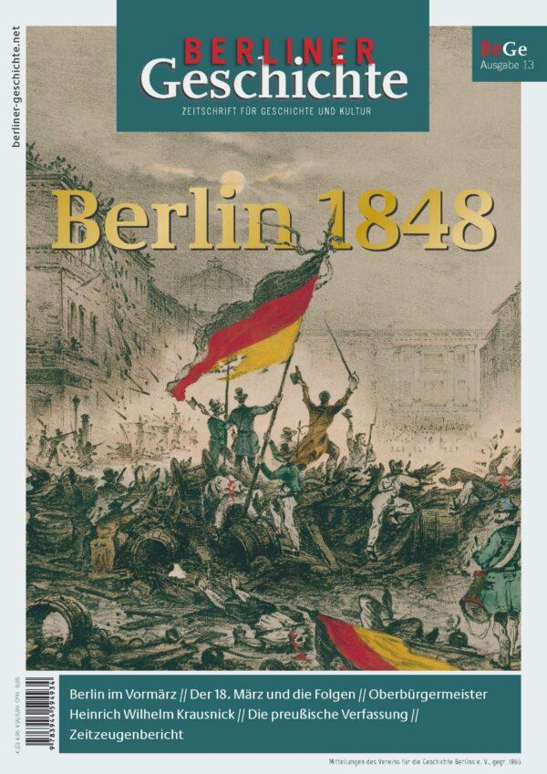Berlin 1848 Geschichte