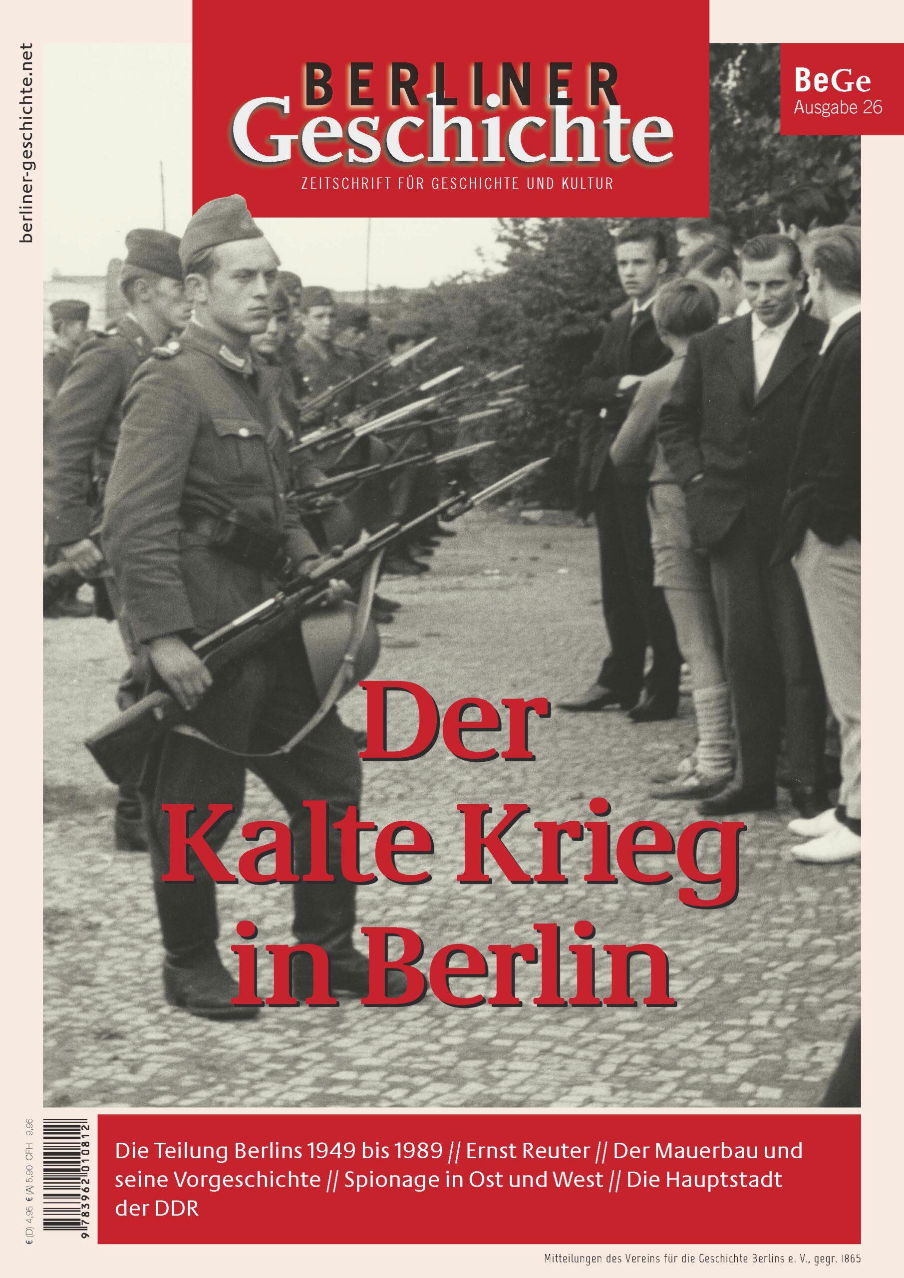 Berlin im kalten Krieg Zeitschrift