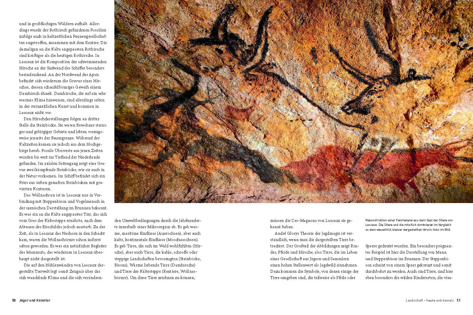 Höhlen von Lascaux Buch