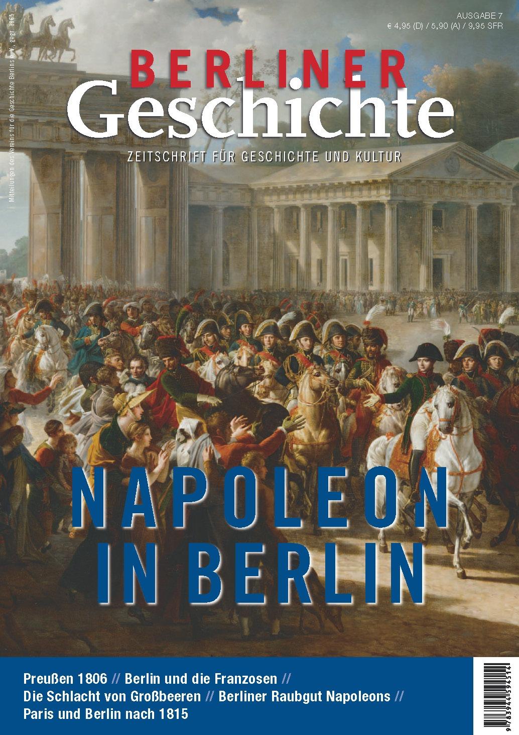 Napoleon in Berlin Berliner – Geschichte