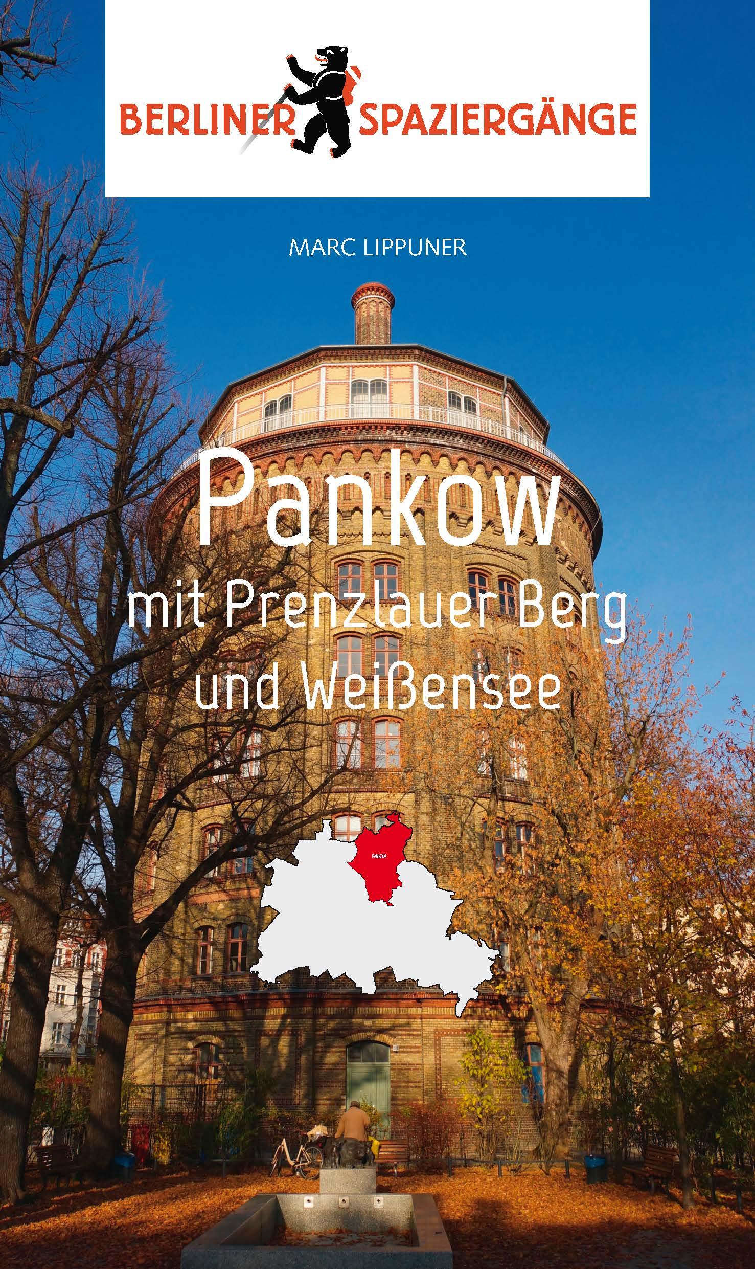 Pankow Berlin Spaziergänge Buch Führer Cover
