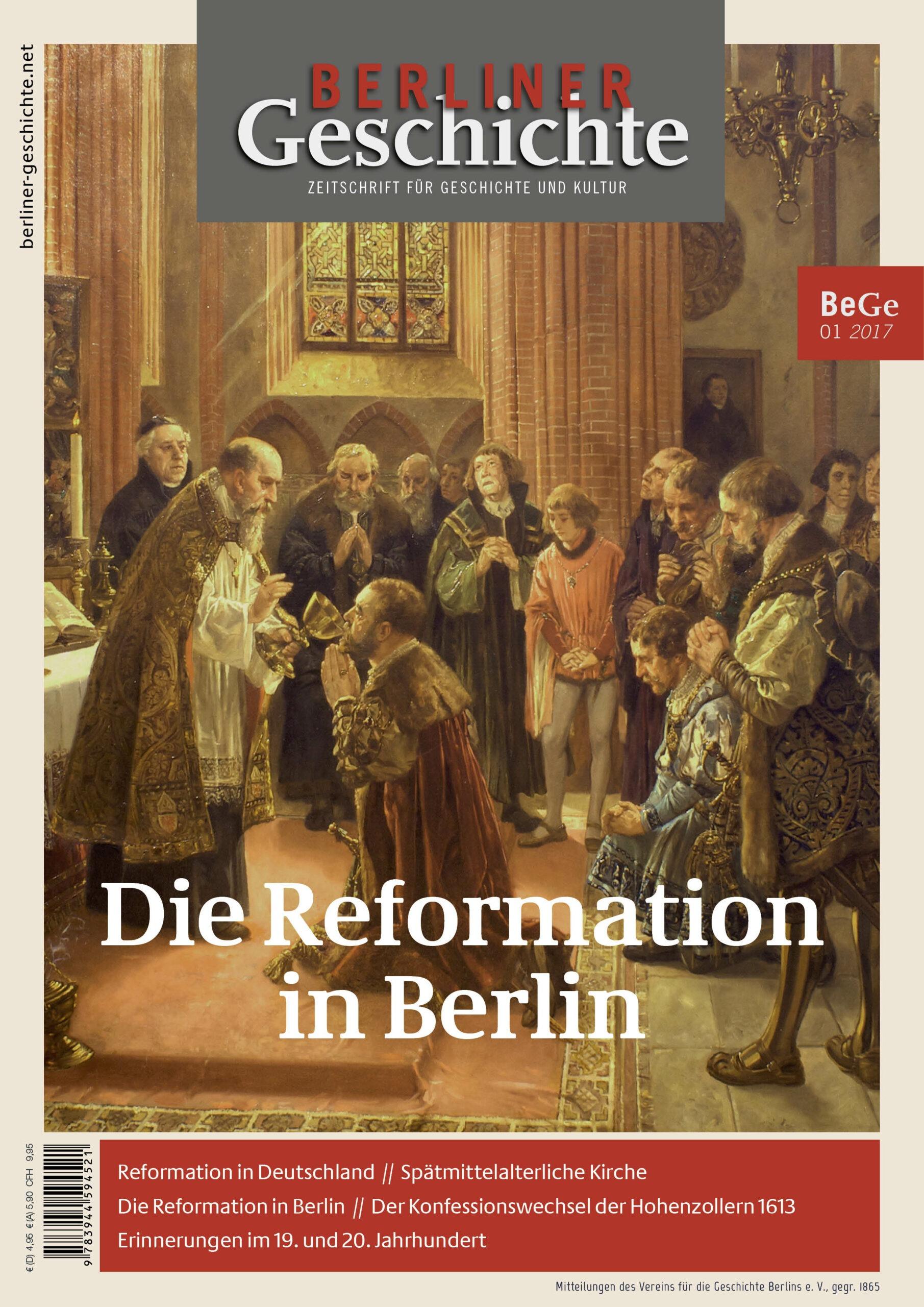 Reformation in Berlin Geschichte Zeitschrift