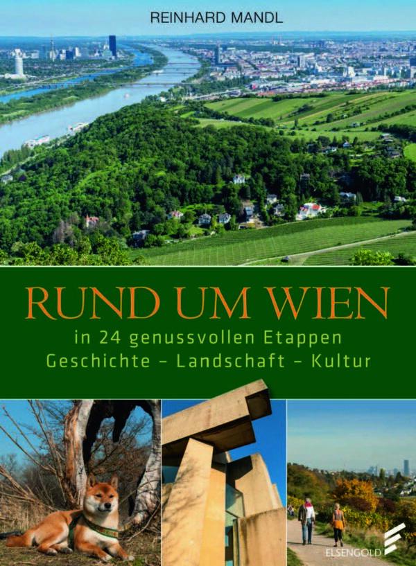 Das Bild zeigt das Cover Rund um Wien