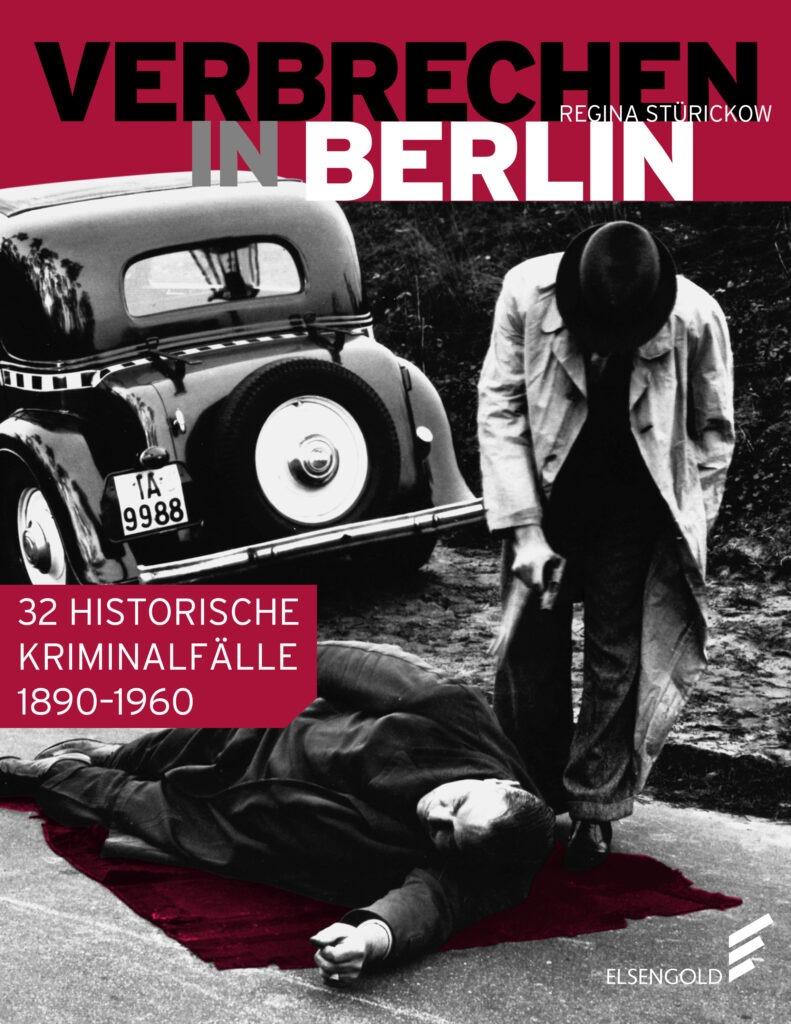 Das Cover des Buches Verbrechen in Berlin.